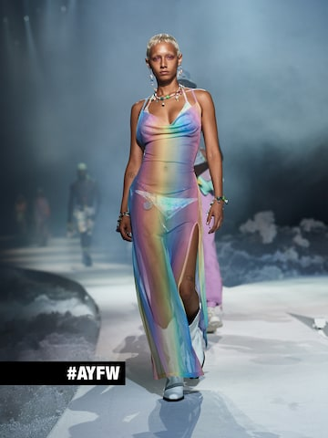 Transparent Dress Look