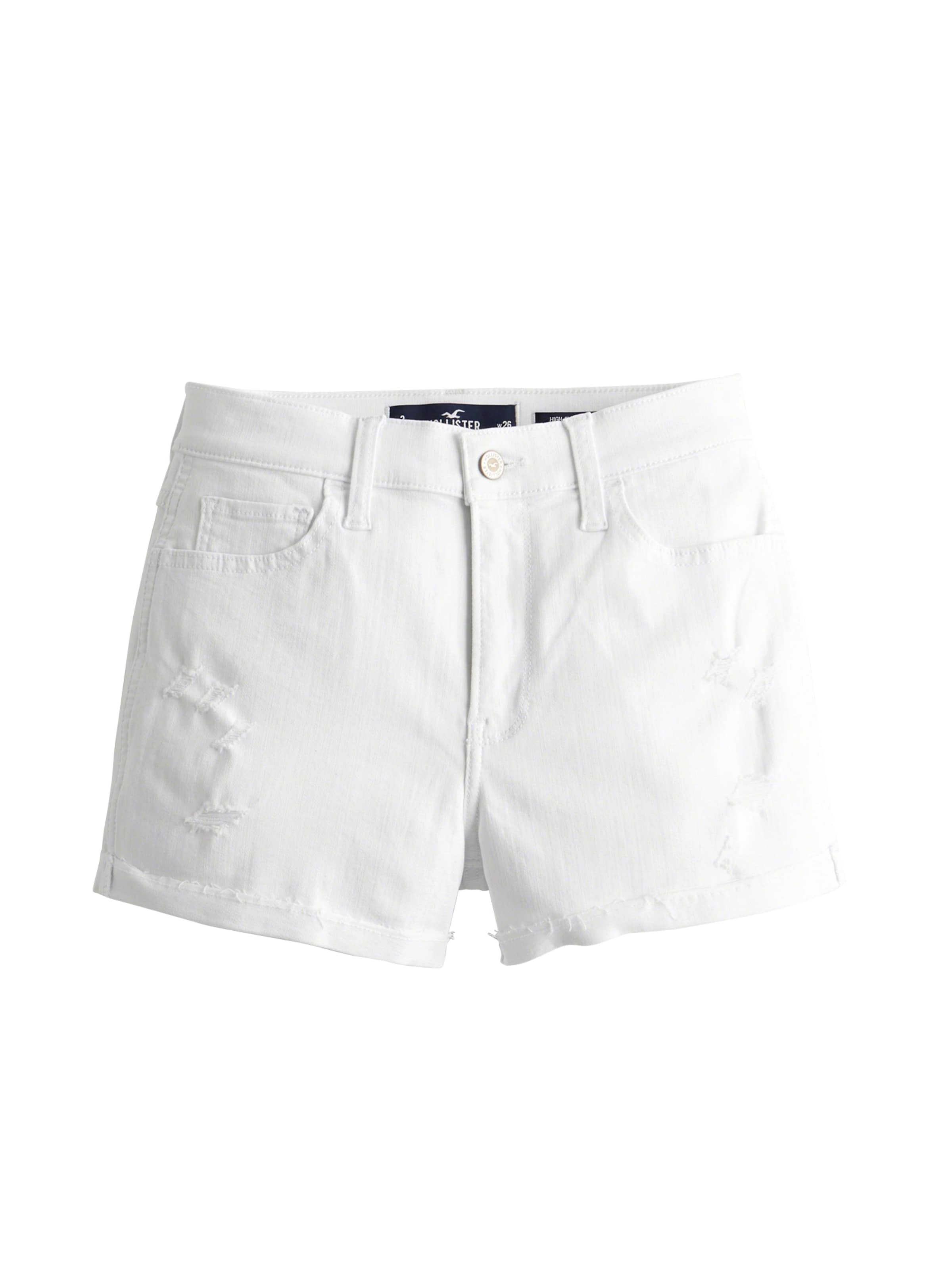 In 3 Jeans As white Hollister Rcc Hr 'sb19 Short' Dst Denim White OXZwPkiTu