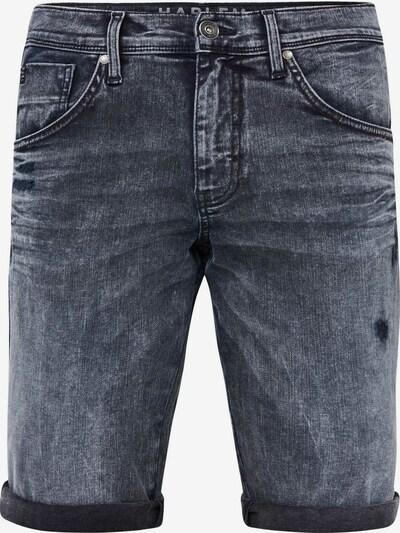 Harlem Soul Shorts in black denim: Frontalansicht