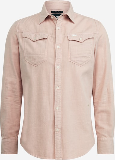 G-Star RAW Hemd 'Arc 3d slim shirt l\s' in rosa, Produktansicht