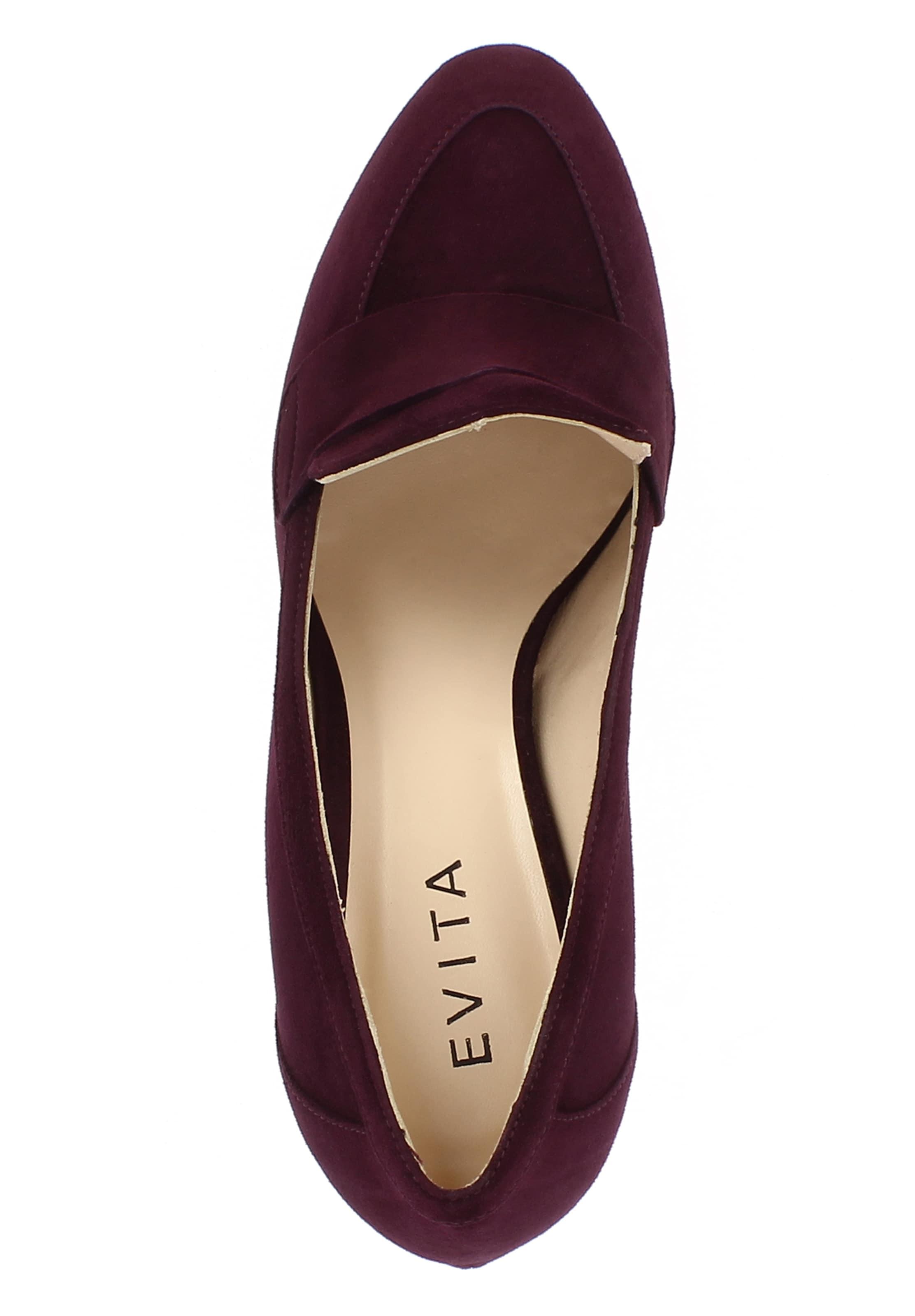 In Evita Pumps Bordeaux Pumps In 'nelly' Evita Bordeaux Pumps 'nelly' Evita derxWoCQB