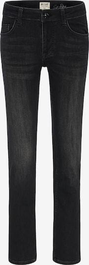 MUSTANG Jeans in schwarzmeliert: Frontalansicht
