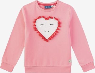 Sanetta Kidswear Langarmshirt für Mädchen, Herz in rosa, Produktansicht