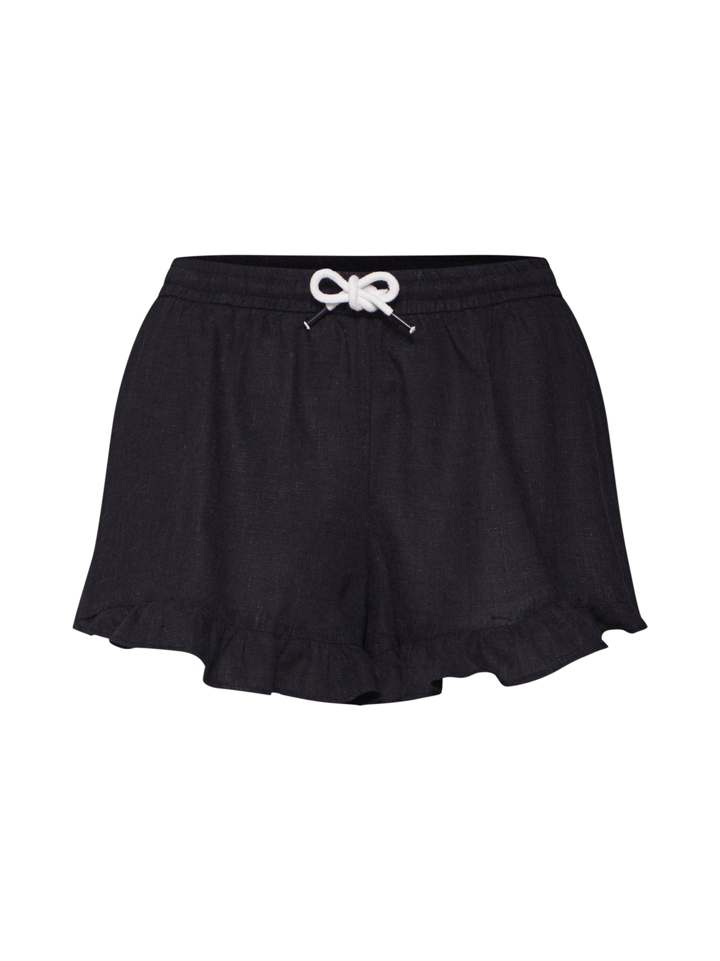 In Review Shorts Schwarz Shorts' 'frill wXiuTZOPk
