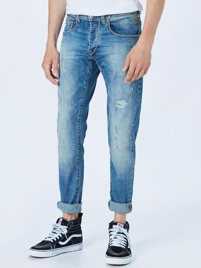Herrlicher Jean en bleu denim, Vue avec modèle