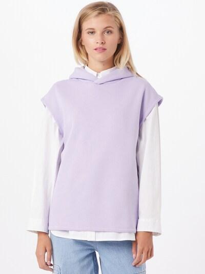 SISTERS POINT Sweatshirt 'Peva' i lavendel, På modell