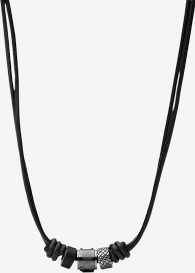 FOSSIL Kette in schwarz, Produktansicht