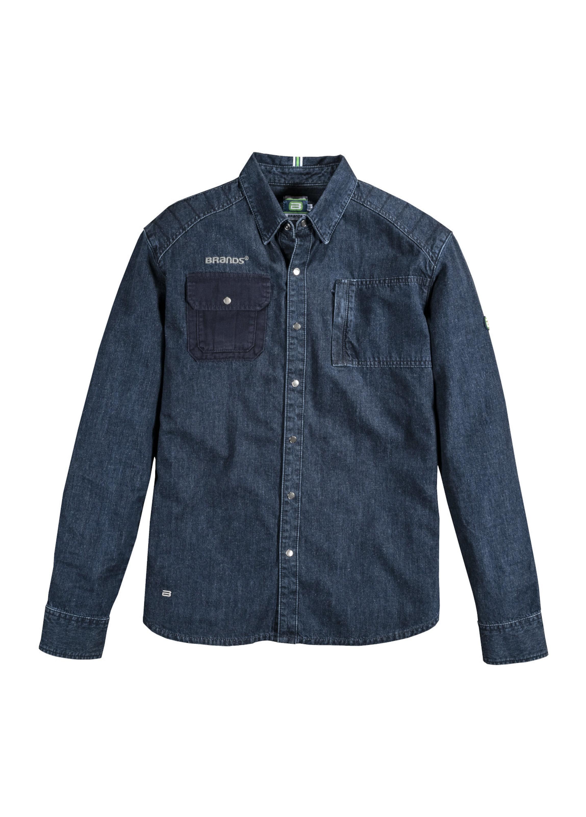 Herren BlauBlue Brands Jeanshemd In Denim Workwear Gots D2YWEH9I