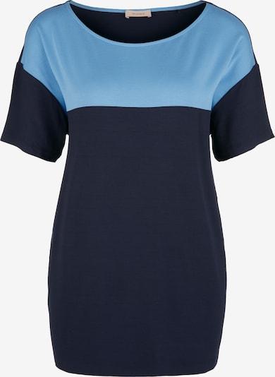TRIANGLE T-Shirt in blau / hellblau, Produktansicht