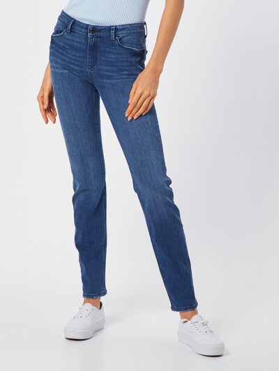 ESPRIT Jeans 'OCS MR Slim Mod' in de kleur Blauw denim, Modelweergave