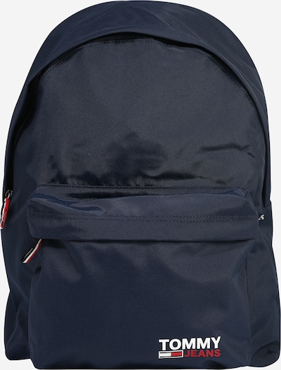 Tommy Jeans Rugzak 'CAMPUS' in de kleur Navy / Rood / Wit, Productweergave