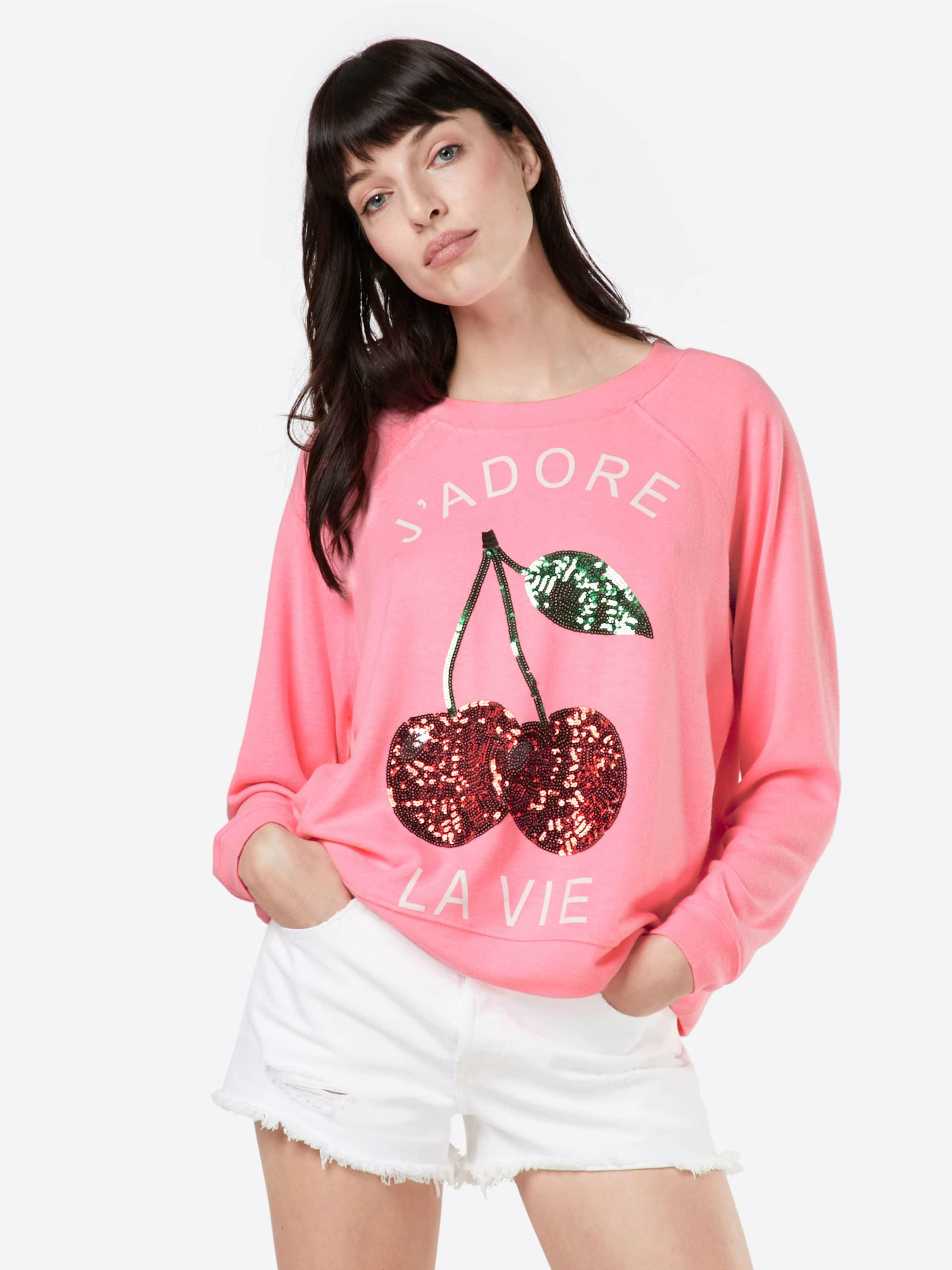 miss goodlife Sweatshirt 'Cherry Pail' Große Diskont Günstiger Preis Rabatt ebIgrc