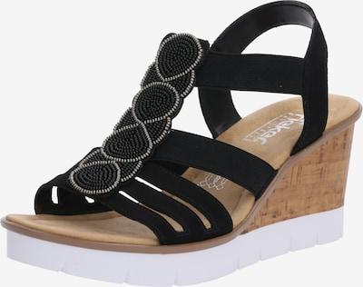 RIEKER Sandale 'V55D8-00' in schwarz, Produktansicht