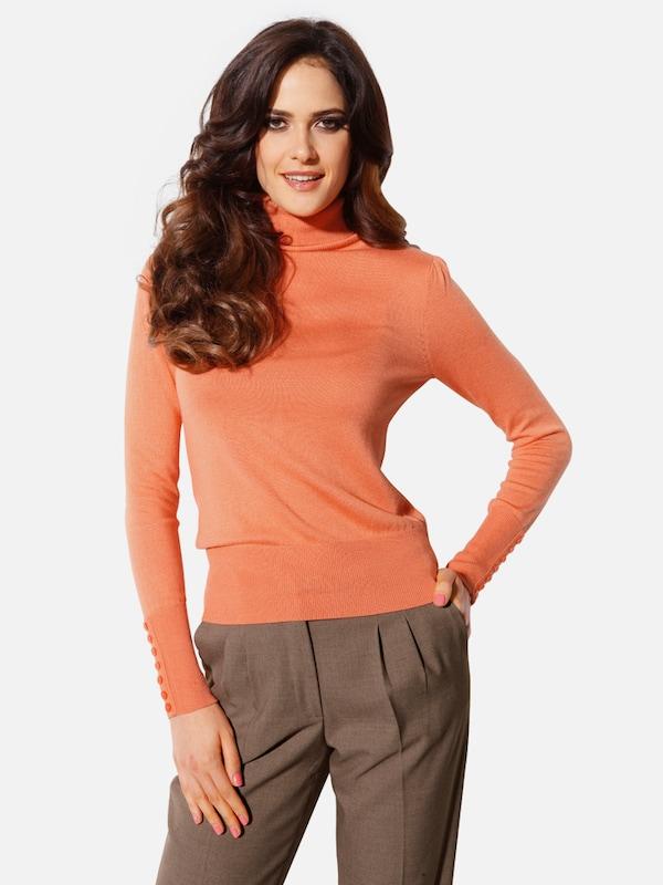 Heine Rollkragenpullover in mandarine  Markenkleidung für für für Männer und Frauen 586ae8