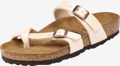 BIRKENSTOCK Sandalen 'Mayari' in beige / braun, Produktansicht