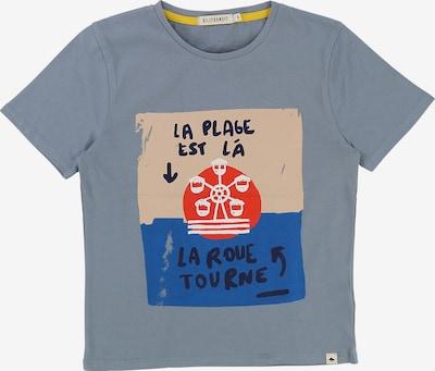 Billybandit Shirt in royalblau / taubenblau / pastellpink, Produktansicht