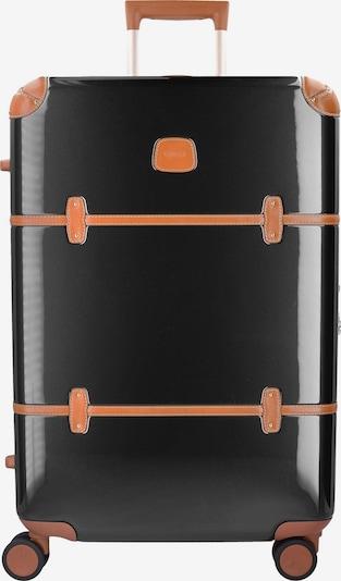 Bric's Trolley in hellbraun / schwarz, Produktansicht