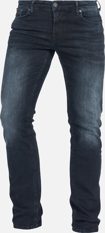 Miracle of Denim Jeans 'Marcel' in black denim: Frontalansicht