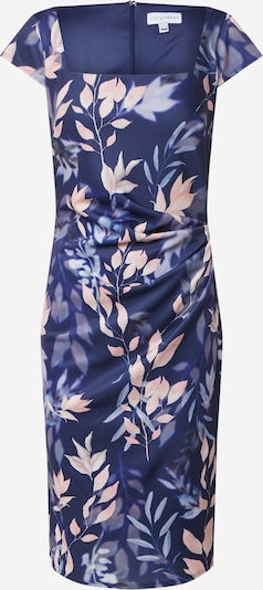 Dorothy Perkins Šaty 'LILLIE AND FRANK NAVY FLORAL SQUARE NECK DRESS' - námořnická modř / mix barev, Produkt