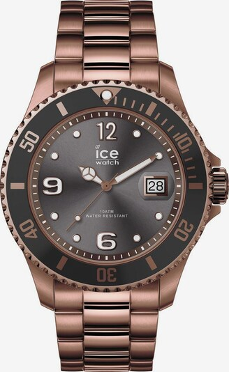 ICE WATCH Quarzuhr 'Ice' in bronze / dunkelgrau, Produktansicht