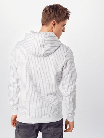 Mister Tee Sweatshirt in de kleur Zwart / Wit: Achteraanzicht