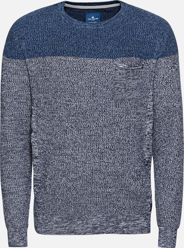Pull over Tom Tailor En BleuGris W9IeYbEHD2