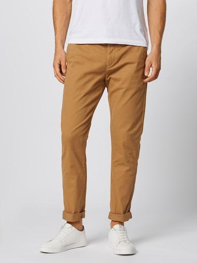 Pantaloni eleganți 'Ams Blauw Stuart' SCOTCH & SODA pe maro, Vizualizare model