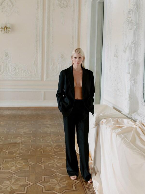 Elegante Outfits 2020: Streetstyle Hosenanzug - Lena Gercke mit dem Suit Up Look
