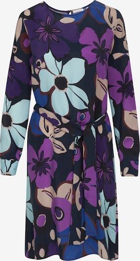 SEIDENSTICKER Blousejurk 'Schwarze Rose' in de kleur Blauw / Azuur / Donkerblauw / Orchidee / Donkerlila: Vooraanzicht