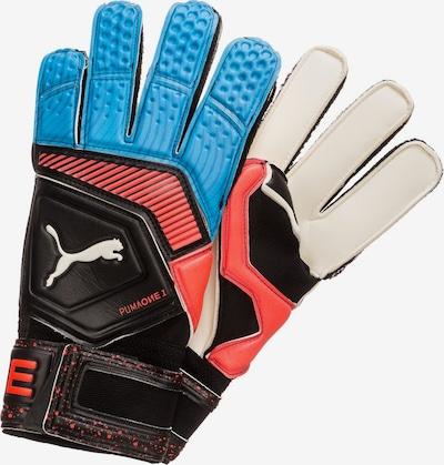 PUMA Gants de sport 'One Grip 1 RC' en bleu ciel / rouge / noir, Vue avec produit