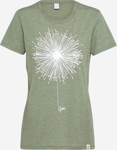 Iriedaily T-shirt 'Blowball' en vert, Vue avec produit