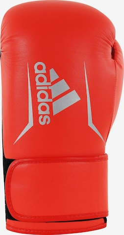 ADIDAS PERFORMANCE Athletic Gloves in Red