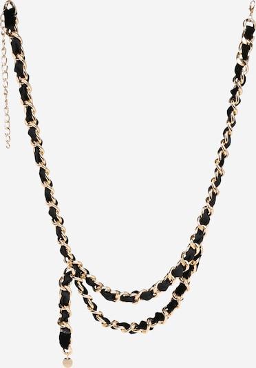 VANZETTI Opasek - zlatá / černá, Produkt