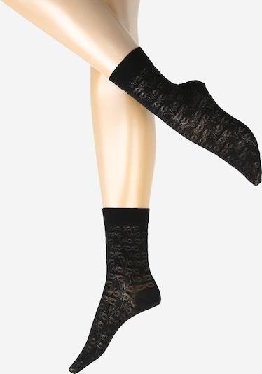 Wolford Sokken in de kleur Zwart, Productweergave