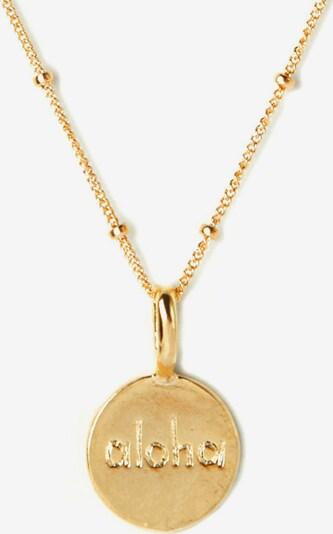 Koshikira Kette 'Aloha' in gold, Produktansicht