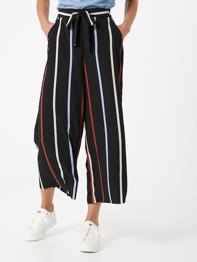 kék / piros / fekete / fehér TOM TAILOR DENIM Nadrág, Modell nézet