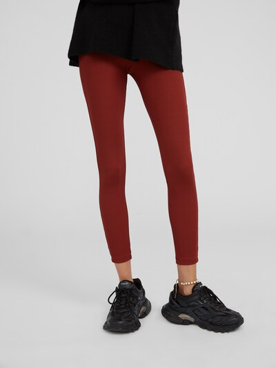 EDITED Leggings 'Shaylee' in braun, Modelansicht