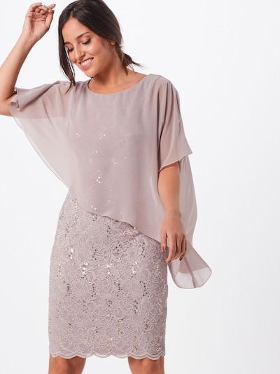 SWING Kleid in taupe / altrosa, Modelansicht