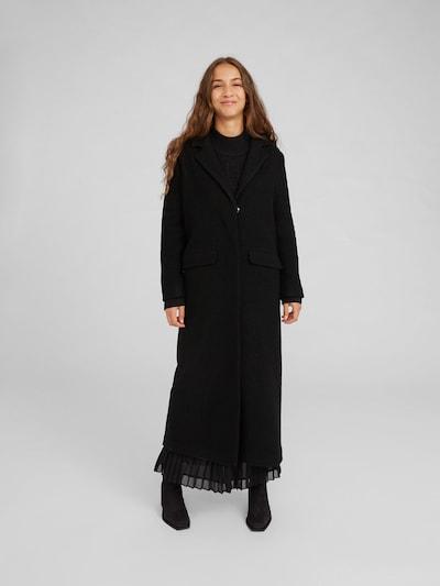 EDITED Prijelazni kaput 'Frida' u crna, Prikaz modela