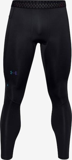 Pantaloni sportivi 'Rush' UNDER ARMOUR di colore blu / nero, Visualizzazione prodotti