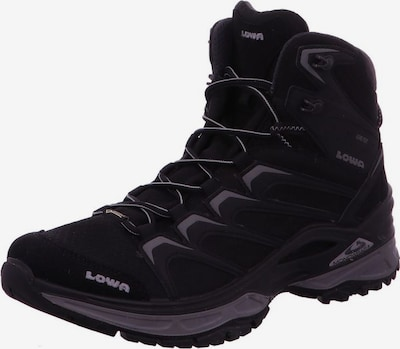LOWA Schuhe in schwarz: Frontalansicht