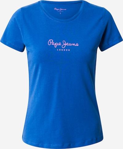 Pepe Jeans T-Krekls 'NEW VIRGINIA' zils / balts, Preces skats