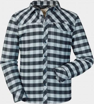 Schöffel Hemd 'Durban' in kobaltblau / weiß, Produktansicht