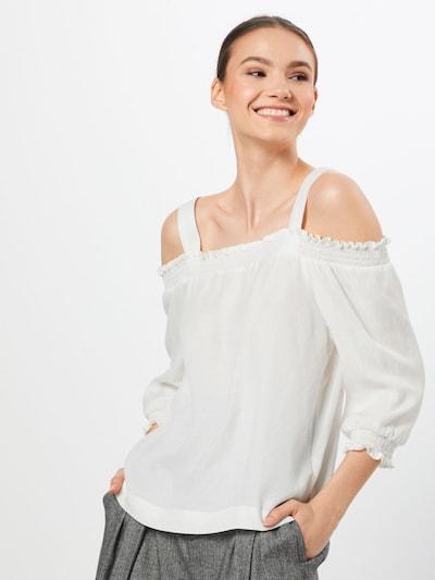 Tricou 'ladies shirt ls' GARCIA pe offwhite: Privire frontală