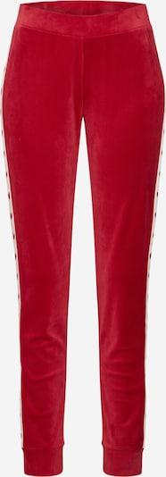 Hunkemöller Spodnji del pižame 'Velours Heart' | rdeča barva, Prikaz izdelka