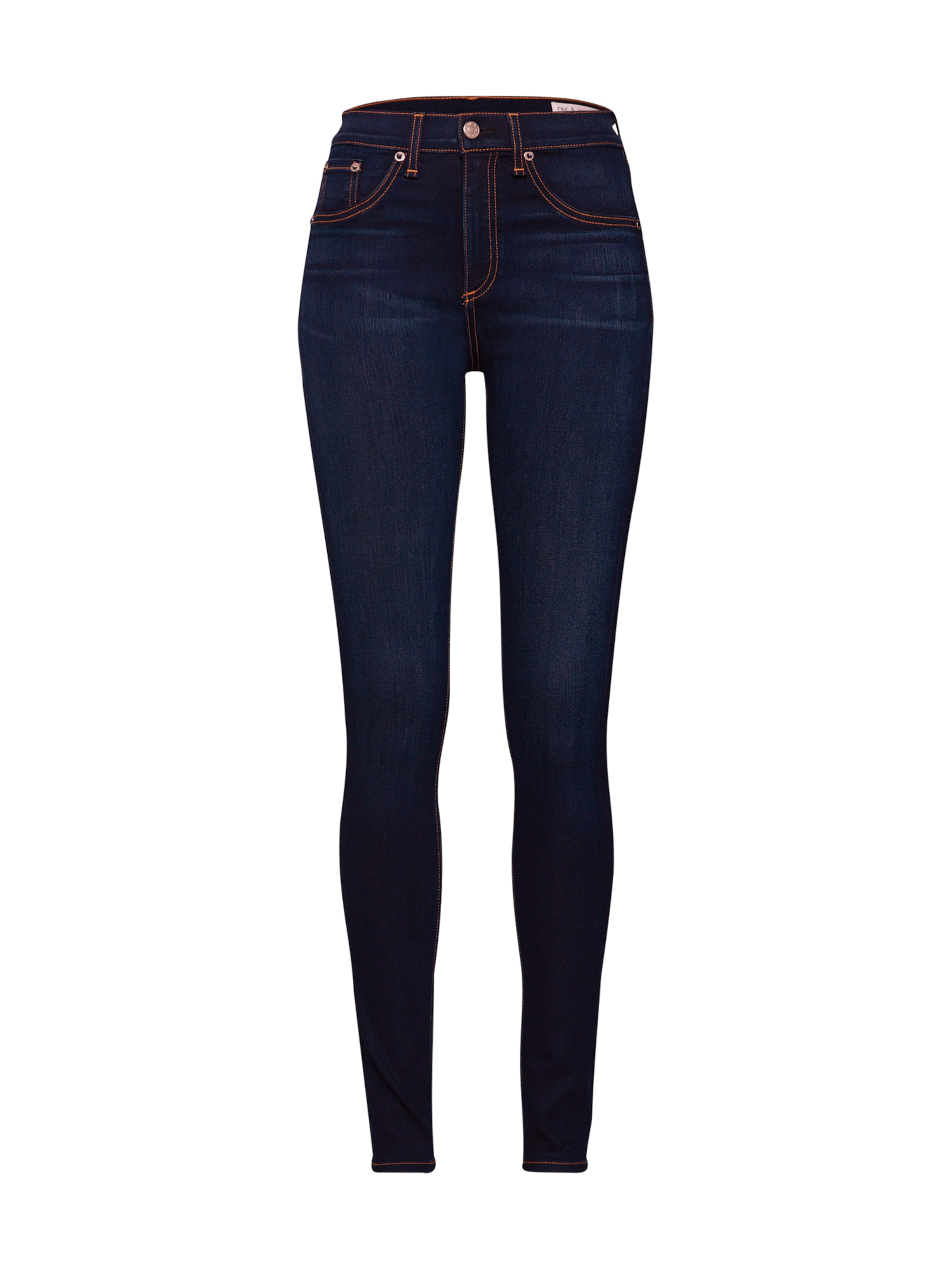 Blue Bone Rise 'high Ragamp; Jeans Skinny' In Denim lF1JKcT3