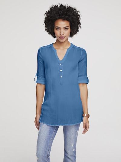 heine Blouse in de kleur Azuur, Modelweergave