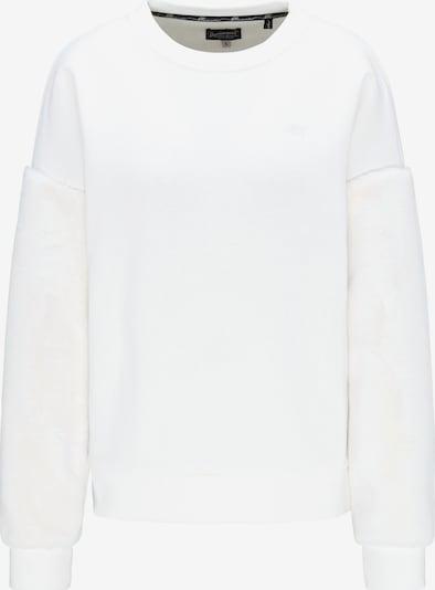 DREIMASTER Sweat-shirt en blanc, Vue avec produit