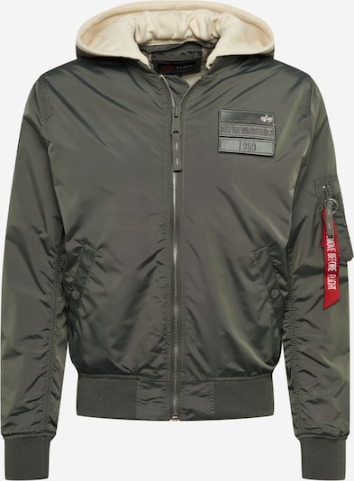ALPHA INDUSTRIES Jacke in oliv, Produktansicht