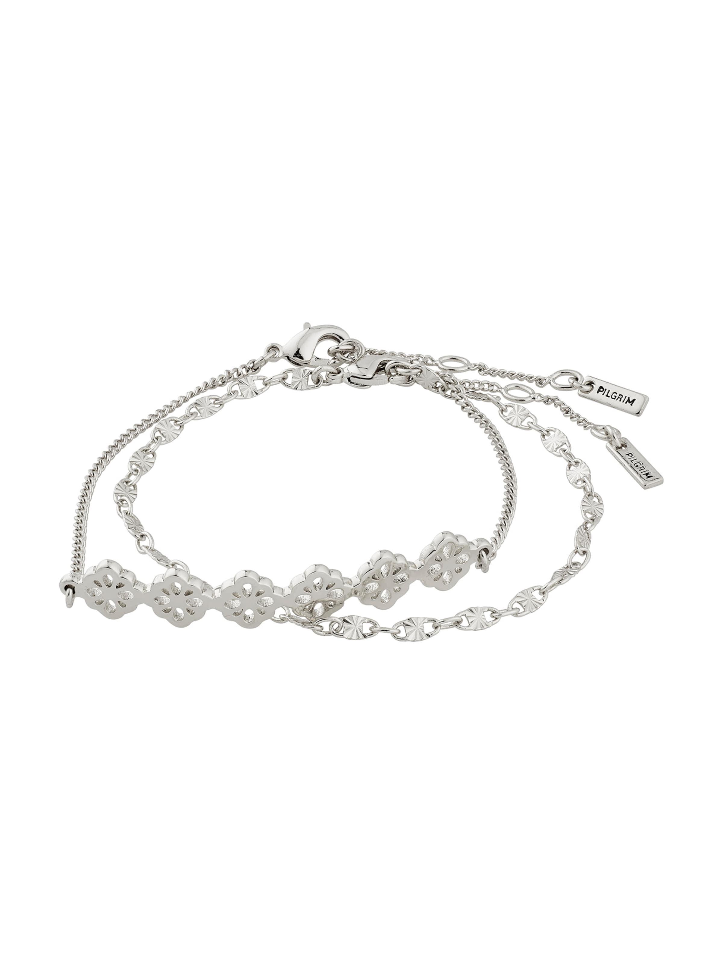 Pilgrim Armband i silver